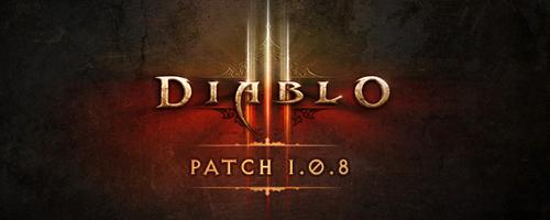 《暗黑破坏神3》1.08补丁更新列表