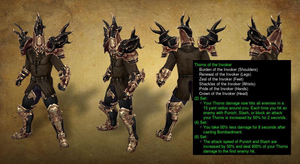 暗黑3第五赛季圣教军唤魔者荆棘玩法心得推荐