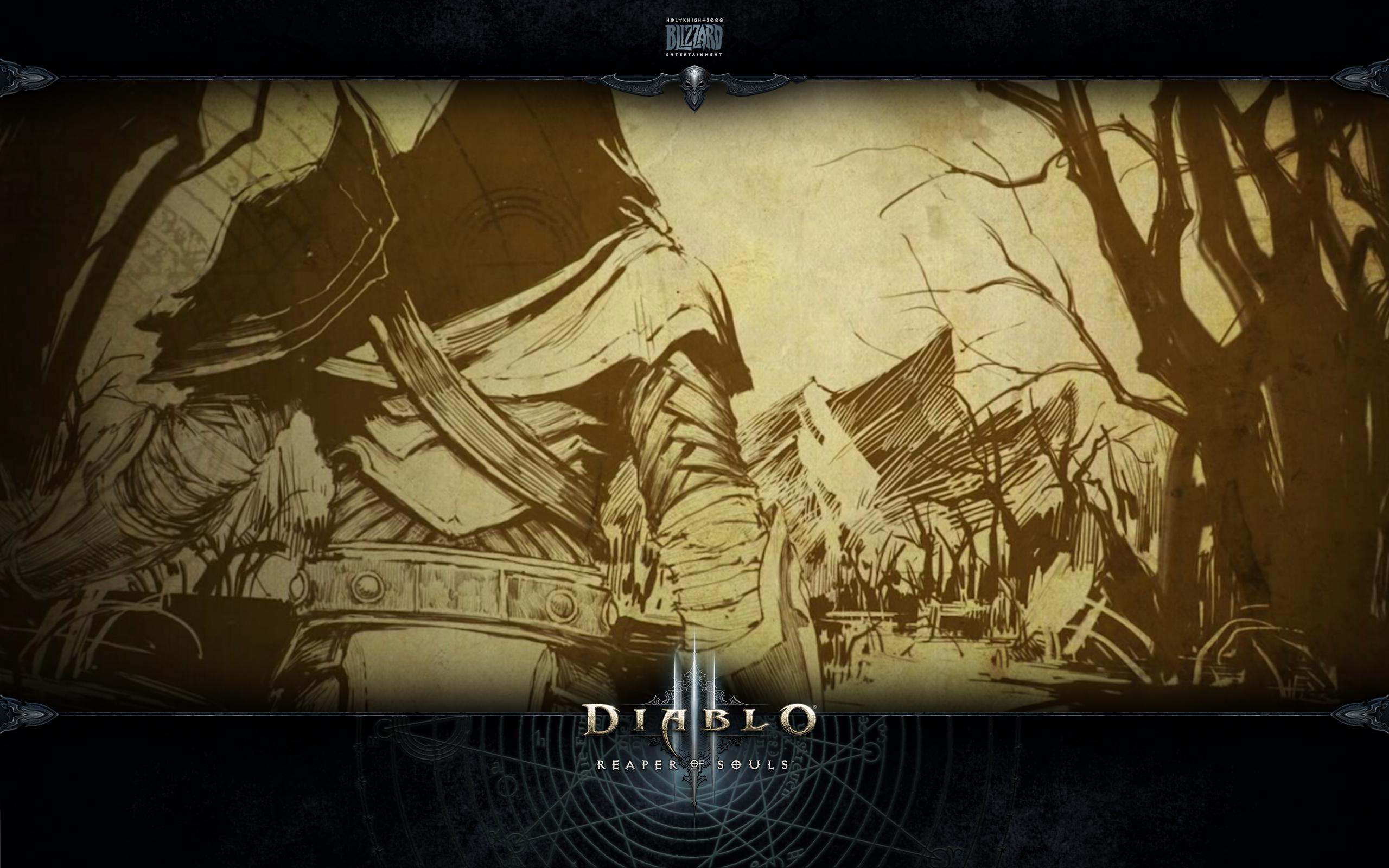暗黑3壁纸分享:夺魂之镰故事绘卷