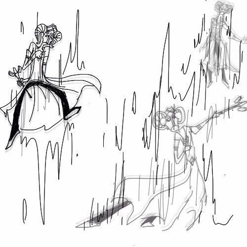 暗黑3玩家作品:法师四种流派的搞怪手绘