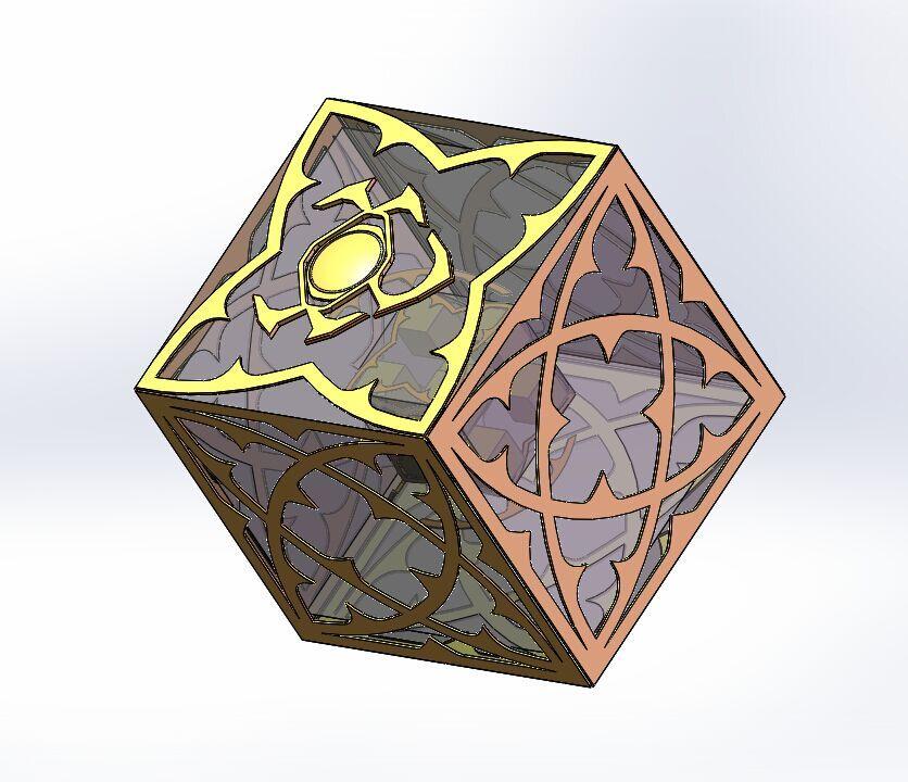 暗黑3玩家作品:不死鸟法师与手绘卡奈魔盒