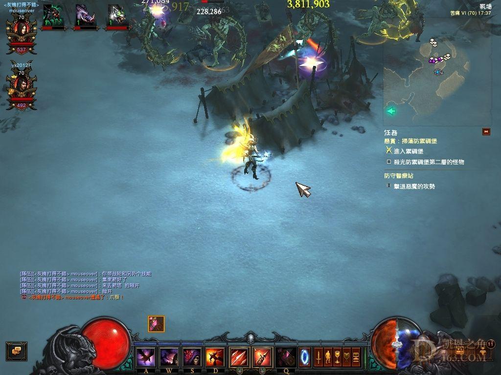 暗黑3猎魔人箭塔与队友视野关系的初步研究